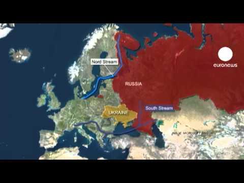 Putin and Schroeder get Nord Stream pumping