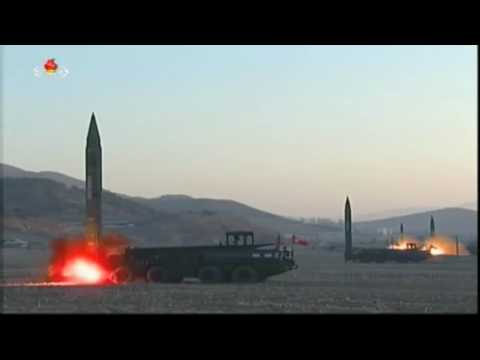North Korea Quadruple Scud Missile Launch, March 7 2017