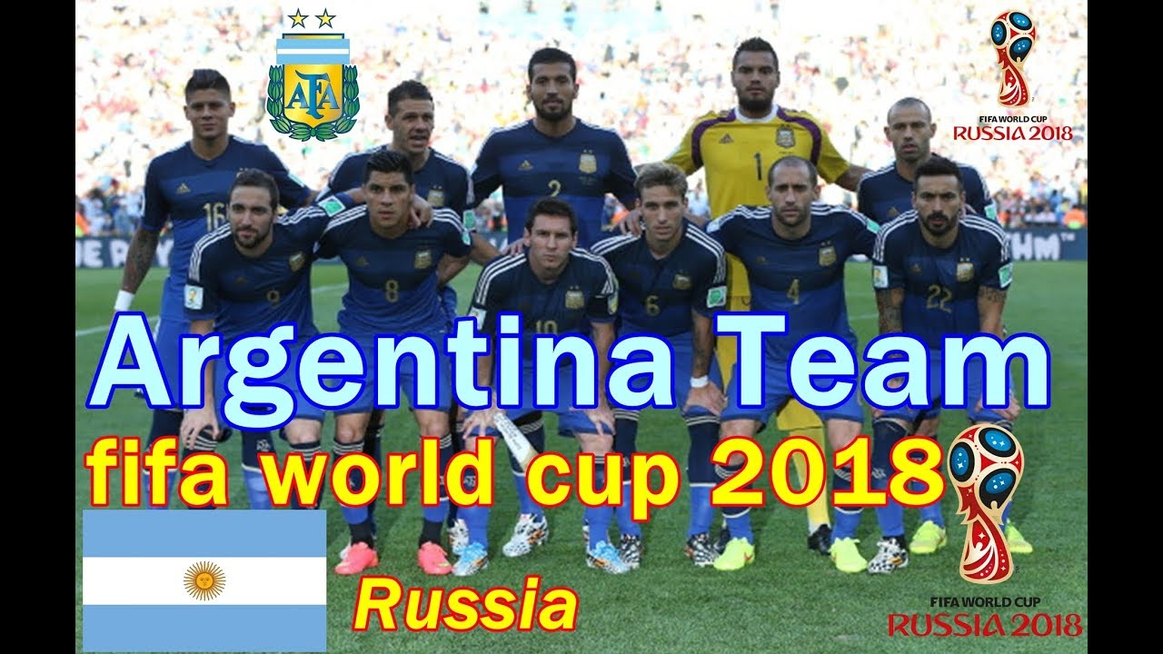 argentina squad 2018 fifa world cup russia official