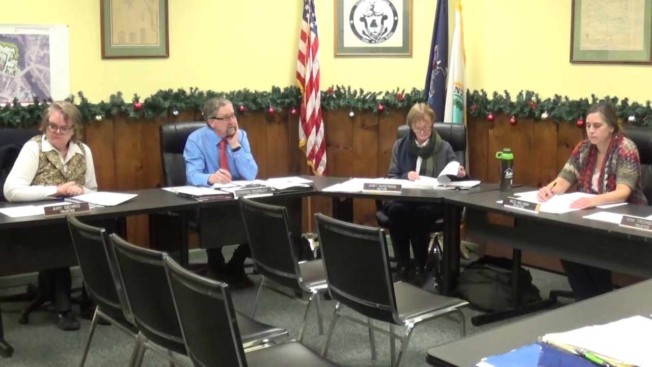 Champlain Village Board  12-9-19