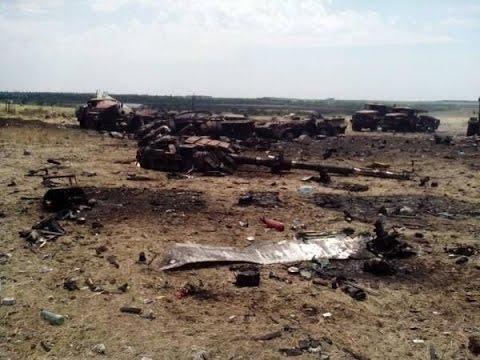 Украинские военные попавшие
