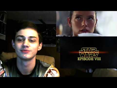Star Wars: Episode VIII Teaser Trailer (Fan Made) REACTION