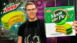 Mountain Dew Moon Pie Taste Test | SNACK SMASH | Mythical Kitchen