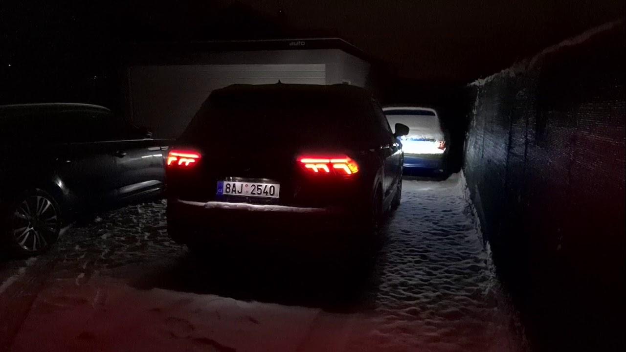 Volkswagen Tiguan (2021 - facelift)   welcome lights - YouTube