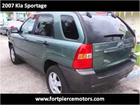 2007 Kia Sportage Used Cars Port Saint Lucie FL