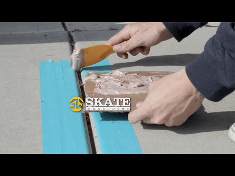 How To Bondo A Skate Spot | Skateboarding Tips
