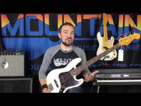 Fender Classic Lacquer Basses - Mountain Music Exchange