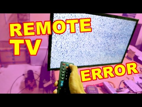 Tv Led Sharp Remote Tidak Berfungsi Vlog35 Youtube