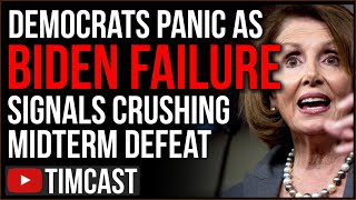 Democrats PANICKING As Biden NEW All Time Low Approval Signals CRUSHING Midterm Defeat, GOP Victory