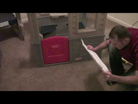 Little Tikes Play House Simple Assembly