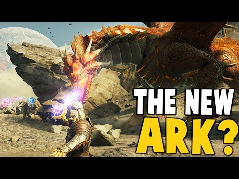 Dark and Light - THE NEW ARK? TAME MYTHICAL CREATURES INSTEAD OF DINOSAURS - Dark and Light Gameplay