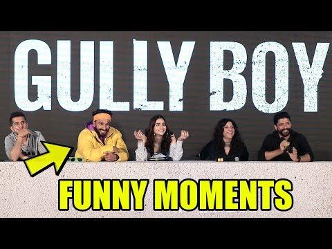 #GullyBoy  Back To Back FUNNY MOMENT | Ranveer Singh, Alia Bhatt Mp3