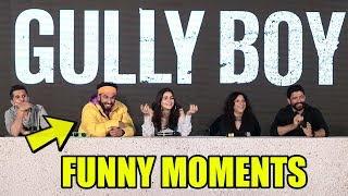 #GullyBoy  Back To Back FUNNY MOMENT | Ranveer Singh, Alia Bhatt