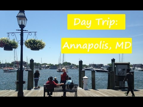 VLOG: Day Trip - Annapolis, MD