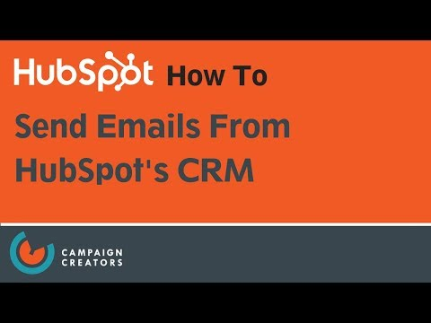 How To Send Emails From HubSpot's CRM | HubSpot How To