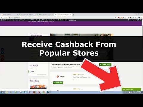 How to receive cashback from popular stores