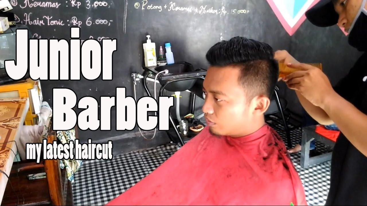 Mens Haircut Indonesia Modern Gentleman Haircut Junior Barber - Hairstyle barbershop indonesia