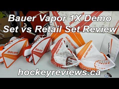 Bauer Vapor 1X OD1N Demo vs Retail Set Review