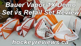 Bauer Vapor 1X OD1N Demo vs Retail Set Review