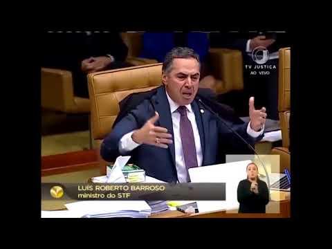 Bate-boca entre Barroso e Gilmar Mendes em sessão do STF