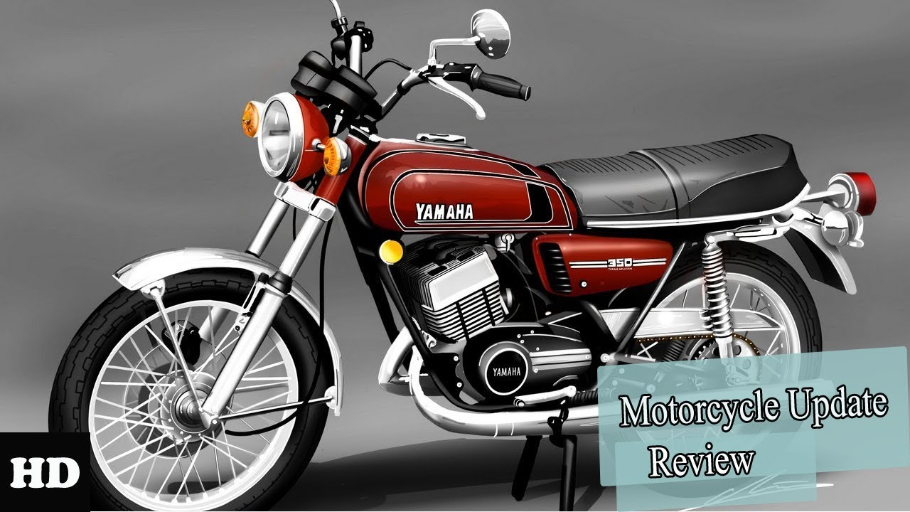 2018 New Yamaha RD350 3 Cylinder Classic And Modern Models Combined