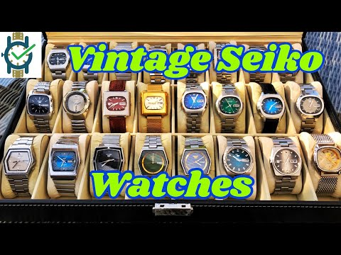 Vintage Seiko Watches (Part 1)