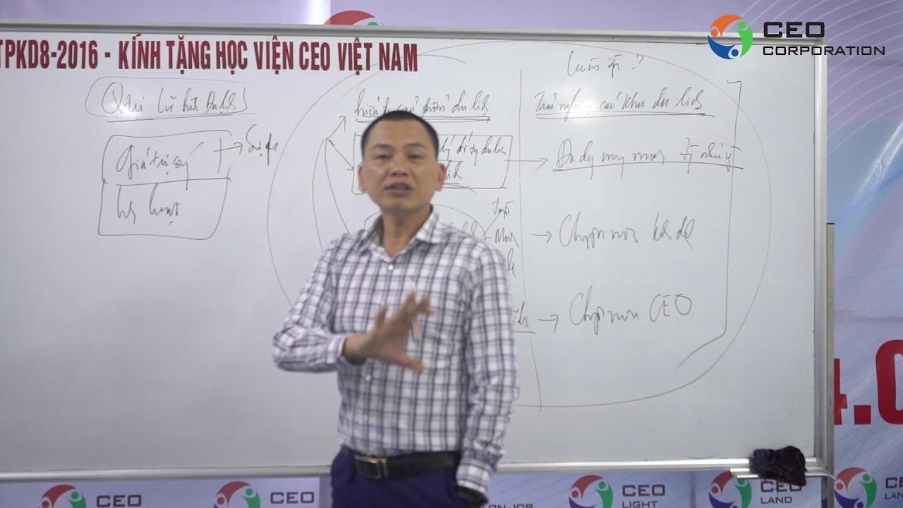 [CEO Tourist ] Hướng nghiệp ngành Quản trị Dịch vụ du lịch và Lữ hành – Ngô Minh Tuấn