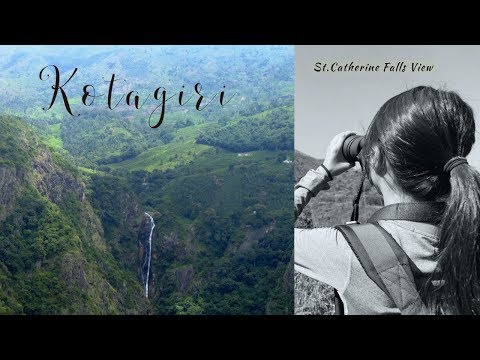 Kothagiri to Coonoor Road Trip! Water falls mountain View -