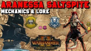 Arnessa Saltspite: Lore & Mechanics + 4th Lord NOT Silver Princess? | Total War: Warhammer 2