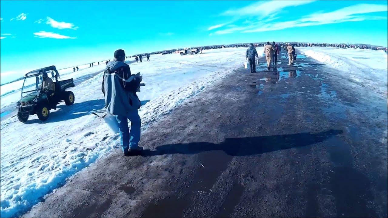 Devils lake volunteer fire department ice fishing for Ice fishing south dakota