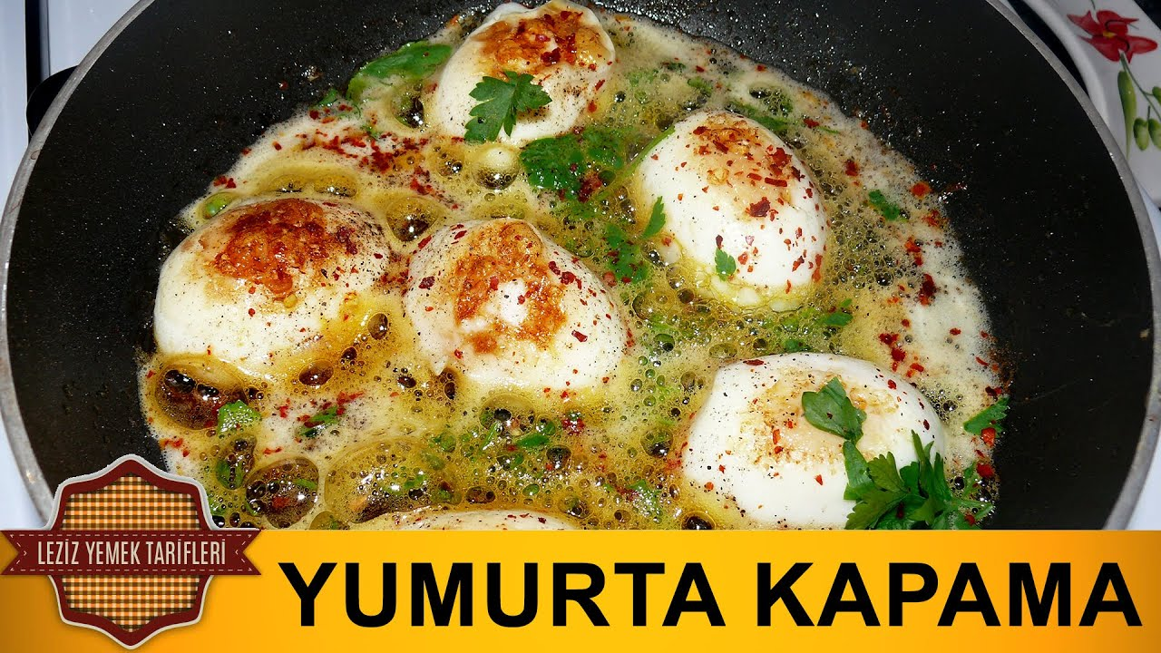 Yumurta Kapama Tarifi | Resimli Yemek Tarifleri - YouTube