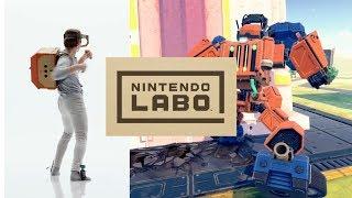 NINTENDO VR!! Nintendo LAB - Nintendo Switch New Games & Accessories
