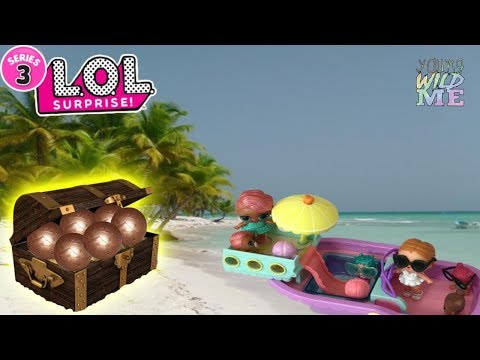 Vacay Babay Is Cruising With LOL Surprise Lil Sisters ULTRA RARE Unboxed + 1 More Blind Bag Toys