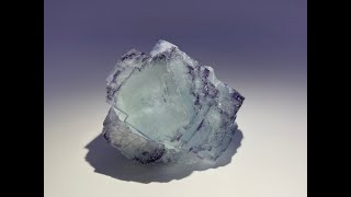 Fluorite Mineral Specimen, Crystal Rock from Yaogangxian Mine, China