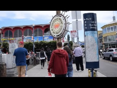 Fisherman's Wharf And Harbour Tour - San Francisco (2017)