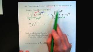 Chem 309 Reactions of Organic Functional Groups Part 1 Intro & Acid Base Review