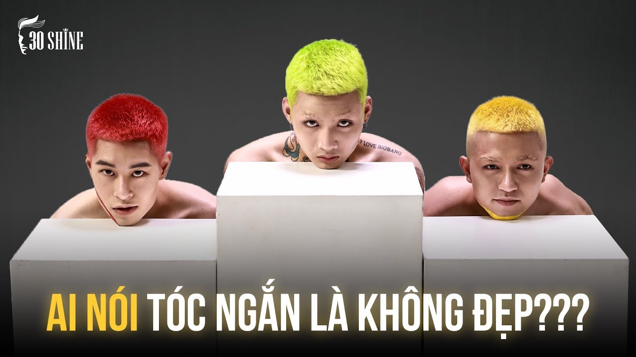 Hè 2020 Nổi Bần Bật Với Kiểu Tóc Neon Húi Cua | Tổng quát những thông tin liên quan đến tóc đinh nam đẹp mới cập nhật