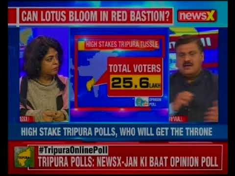 Tripura Opinion Polls: NewsX brings you the Jan ki Baat opinion poll for upcoming Tripura polls