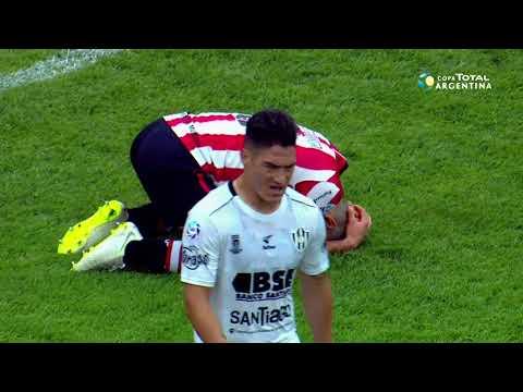 Cuartos: Central Córdoba (SdE) 1 - Estudiantes (LP) 0