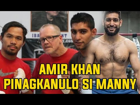Amir Khan denies Manny Pacquiao Power Punches and Greatness?