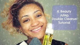 K Beauty Julep Double Cleanse Tutorial   Martika Brianne