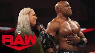 Lana demands praise from the WWE Universe: Raw, Jan. 20, 2020