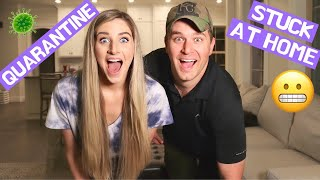 A DAY IN THE LIFE | QUARANTINED AT HOME EDITION