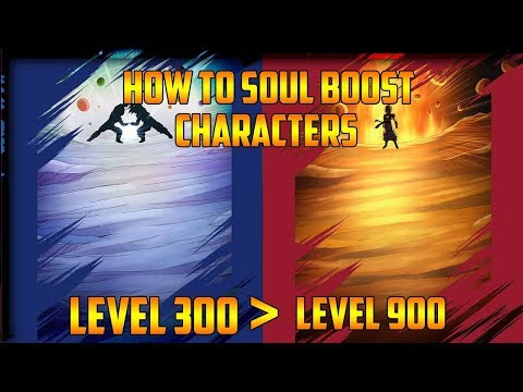 HOW TO SOUL BOOST YOUR CHARACTERS! LEVEL 300 TO 1000! Dragon Ball Legends