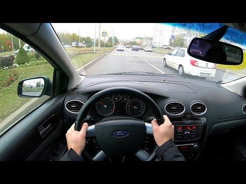 2008 Ford Focus Ghia 1.6 (115) POV TEST DRIVE
