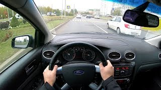 2008 Ford Focus Ghia 1.6 (115) POV TEST DRIVE