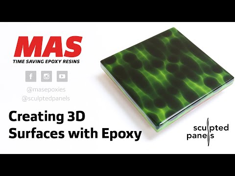 Creating 3D Surfaces with Epoxy Resin | MAS Epoxies & Sculpted Panels