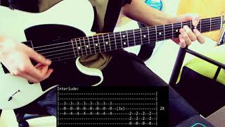 Stick To Your Guns - Married To The Noise (Guitar Cover + TABS on Screen)