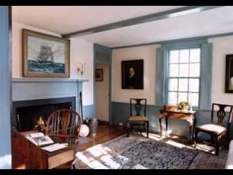 DIY Colonial decorating ideas - YouTube