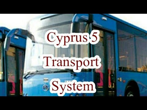 Cyprus transport system must watch helpful information for tourists and students